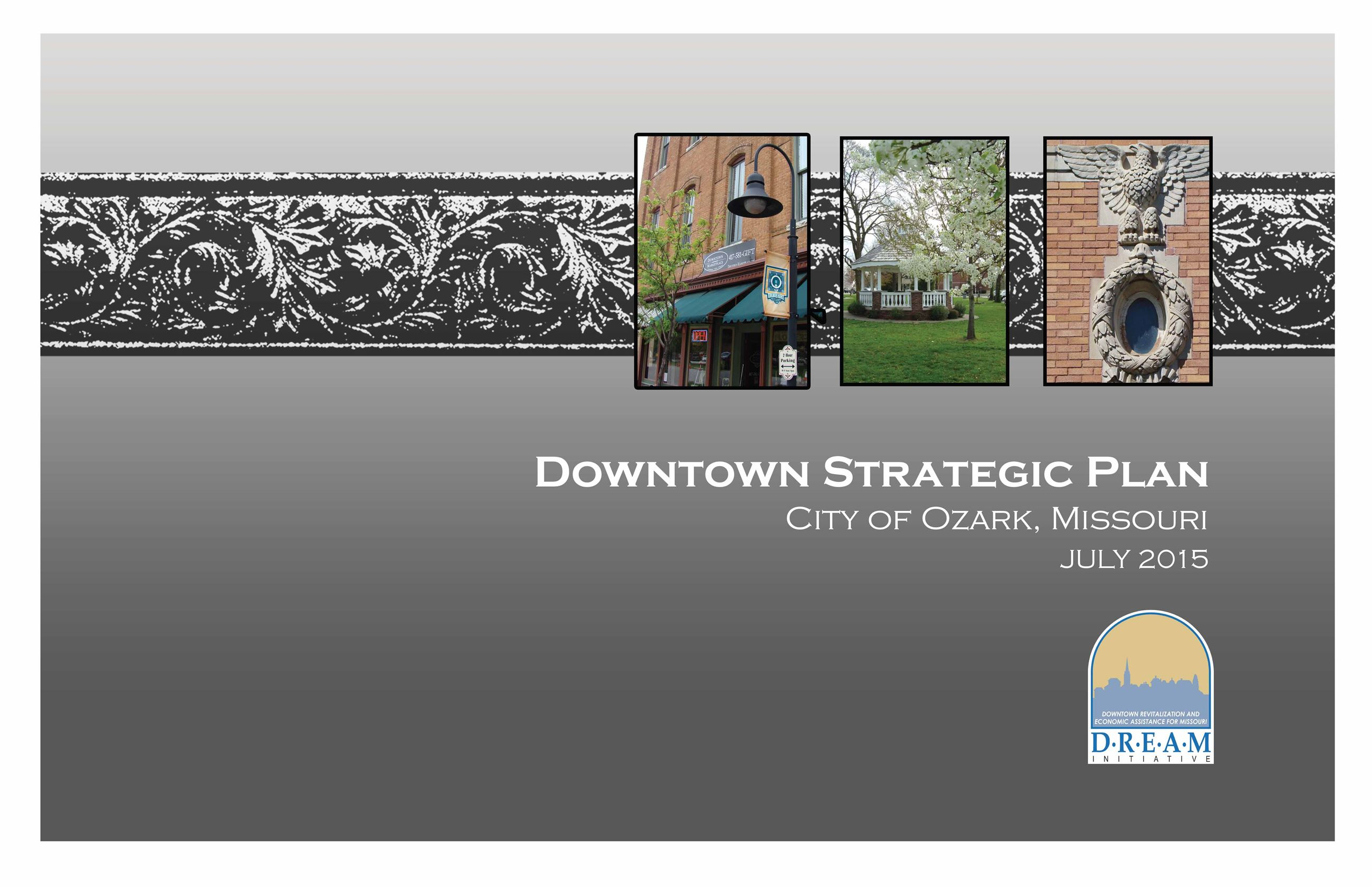 Final Ozark DREAM Strategic Plan 07 2015-1