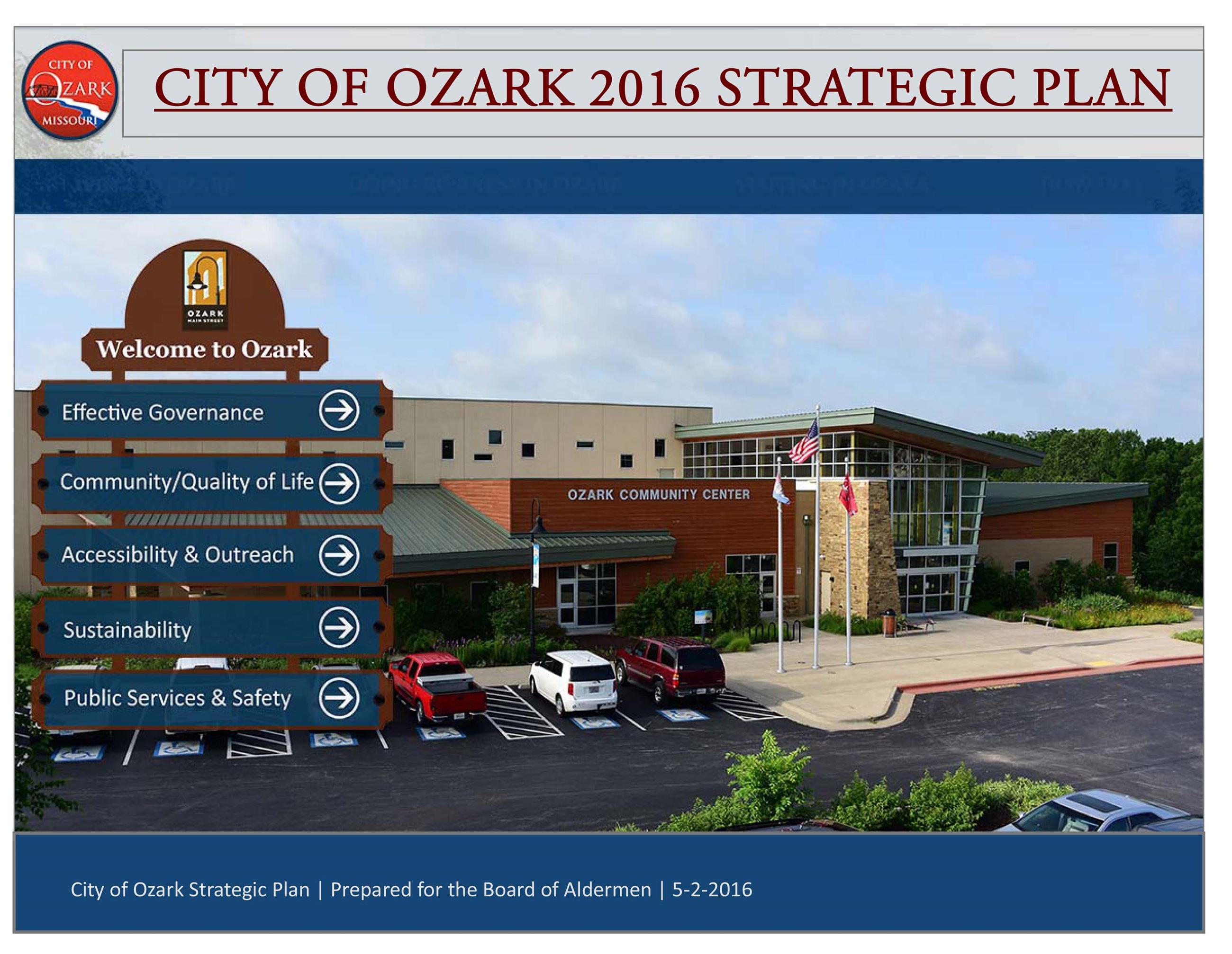 2016 OZARK STRATEGIC PLAN
