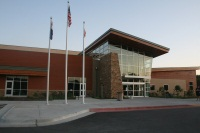 Ozark Community Center front entrance